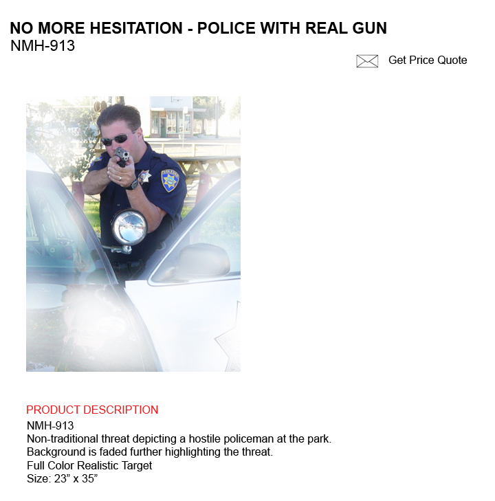 In Response To Quot No More Hesitation Quot From Law Enforcement